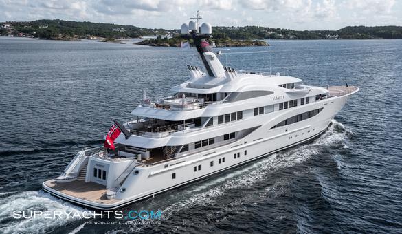 Areti New Build Yacht