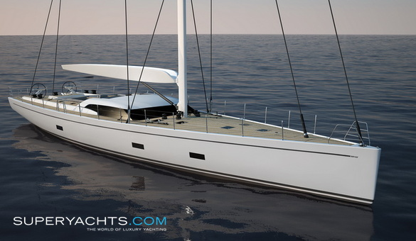 Atalante Luxury Sail Yacht by Southern Wind Shipyard