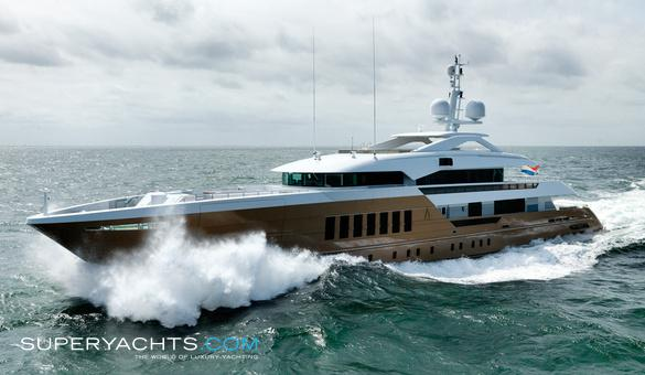 Azamanta Luxury Motor Yacht by Heesen Yachts