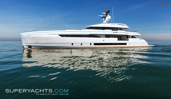 Cecilia Luxury Motor Yacht by Wider