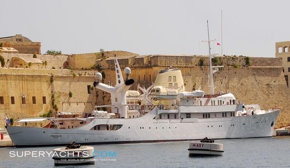 Motor yacht christina o mega yacht christina o is the epitome of