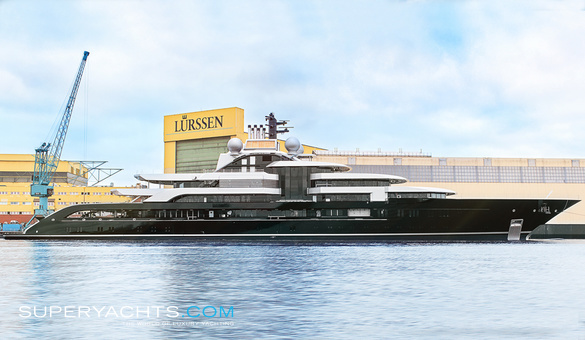 Crescent Luxury Motor Yacht by Lurssen Yachts