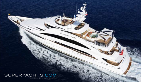 Diamonds Are Forever Luxury Motor Yacht by Benetti