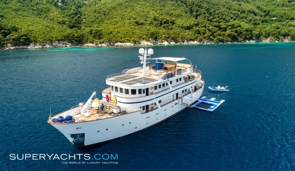 Donna Del Mare Luxury Motor Yacht by Aegean Yacht