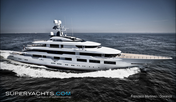 DreAMBoat Luxury Motor Yacht by Oceanco