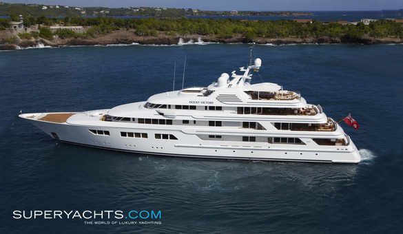 Ebony Shine Luxury Motor Yacht by Feadship
