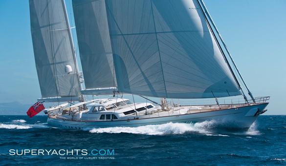 Ethereal - Royal Huisman Sail Yacht | superyachts com