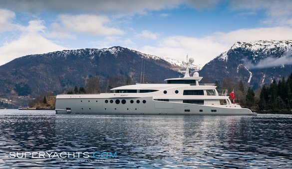 Event Luxury Motor Yacht by Amels