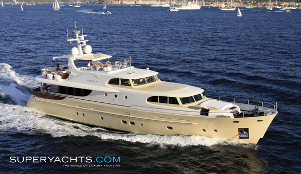 FanSea Luxury Motor Yacht by Cyrus Yachts