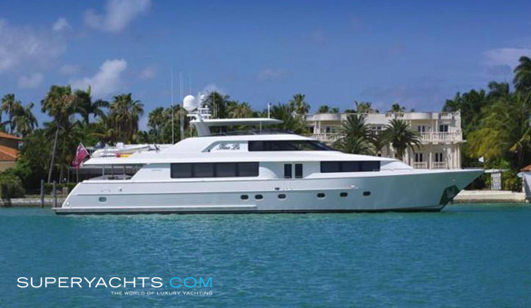 Frisky Lady Luxury Motor Yacht by Westport