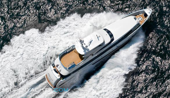 Galactica Plus Luxury Motor Yacht by Heesen Yachts