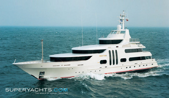Gallant Lady Luxury Motor Yacht by Feadship