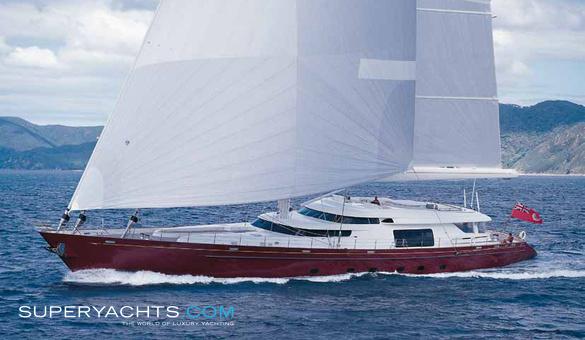 Georgia - Alloy Yachts Sail Yacht | superyachts com