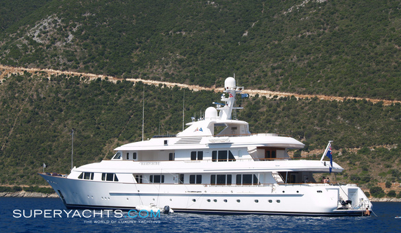 Hampshire Luxury Motor Yacht by Feadship