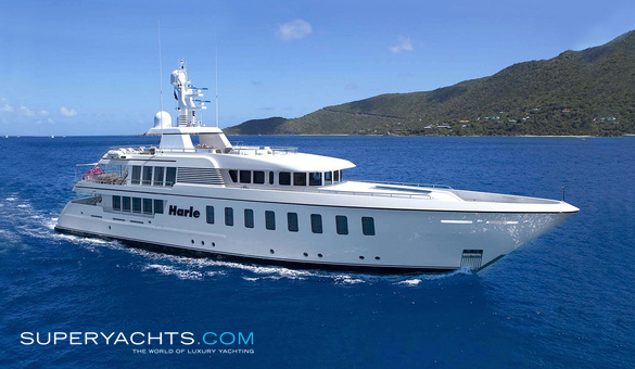 Harle Luxury Motor Yacht by Feadship