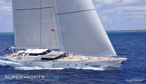 Hyperion Luxury Sail Yacht by Royal Huisman