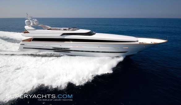 Lazy Me Luxury Motor Yacht by Cantieri di Pisa