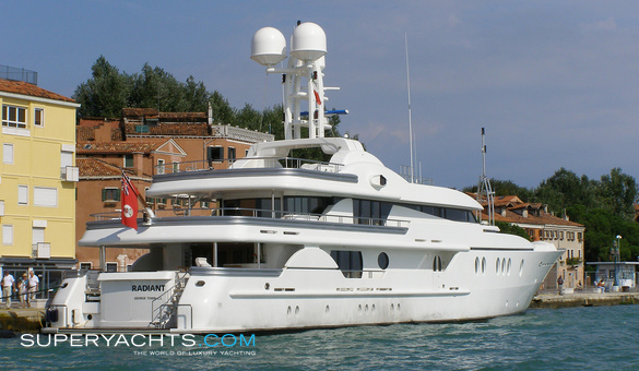 Lightning Luxury Motor Yacht by Amels