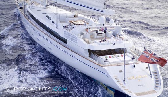 Segelyacht modern  M5 - Vosper Thornycroft Sail Yacht | superyachts.com