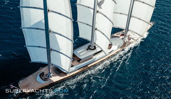Maltese Falcon - Perini Navi Sail Yacht   superyachts com