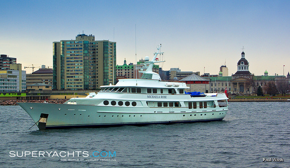 Michaela Rose Luxury Motor Yacht by Fr. Schweers Shipyard