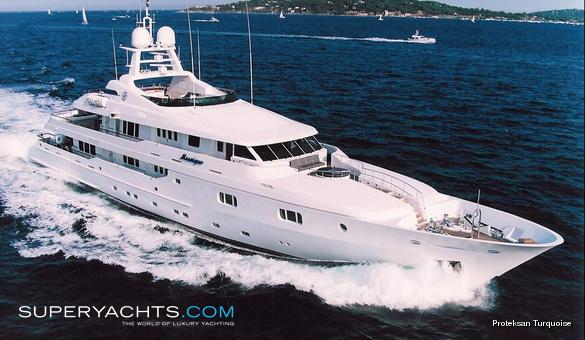 Mosaique Turquoise Yachts Motor Yacht