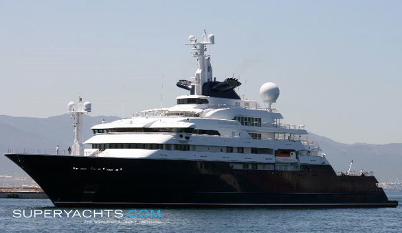 Octopus Luxury Motor Yacht By Lurssen Yachts