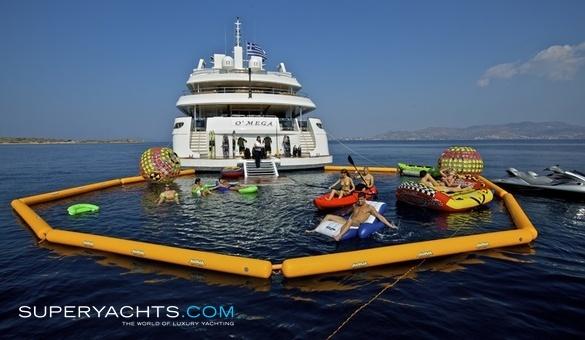 OMega Luxury Motor Yacht By Mitsubishi Heavy Industries