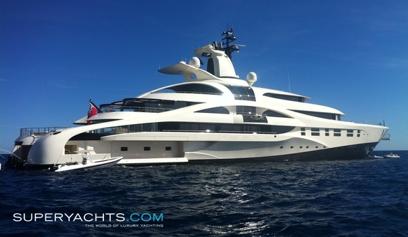 Palladium Luxury Motor Yacht by Blohm + Voss Shipyards