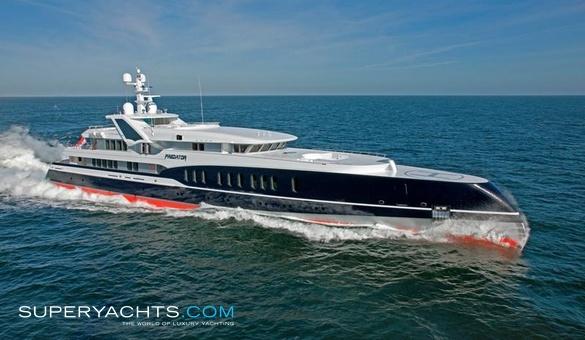 Luxury Motor Yacht Predator By Feadship