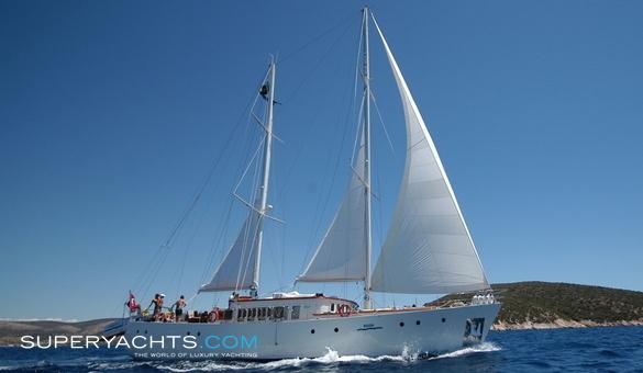 Rosa Aegean Yacht Motor Sailer Yacht