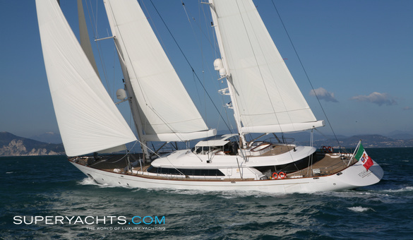 Rosehearty Luxury Sail Yacht by Perini Navi