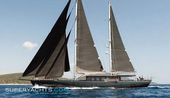 Rox Star Luxury Sail Yacht by Bodrum Shipyard