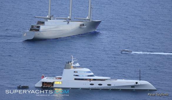 Sailing Yacht A - Nobiskrug Sail Yacht | superyachts.com