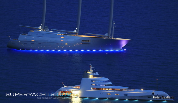Sailing Yacht A >> Sailing Yacht A Nobiskrug Sail Yacht Superyachts Com