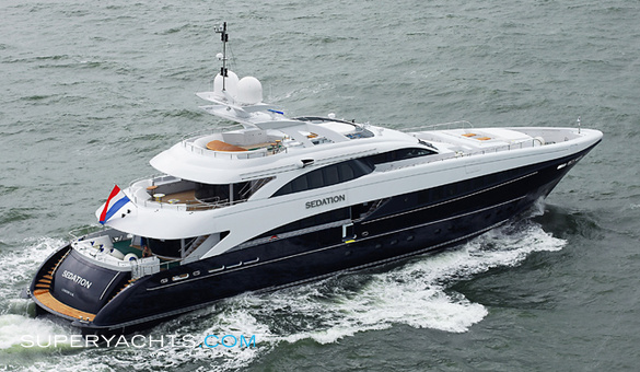 Sedation A Luxury Motor Yacht by Heesen Yachts