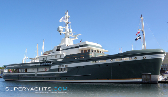 Expedition For Sale >> STEEL - Pendennis Shipyard Motor Yacht | superyachts.com