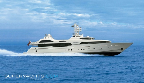 Sussurro Luxury Motor Yacht by Feadship