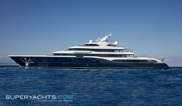 Symphony Luxury Motor Yacht by Feadship