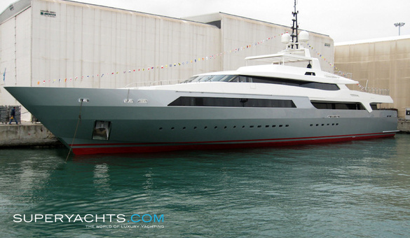 Vicky Luxury Motor Yacht by Baglietto