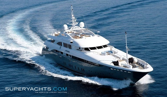 Victory V Luxury Motor Yacht by Golden Yachts