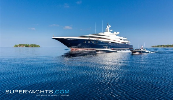 Wheels Luxury Motor Yacht by Oceanco