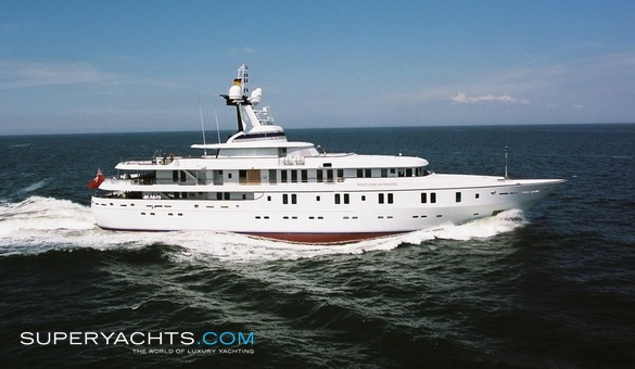 White Rose of Drachs Luxury Motor Yacht by Kusch Yachts