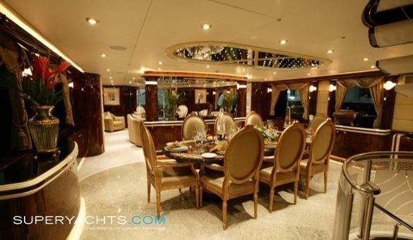 World is not enough specification for Bateau de luxe interieur