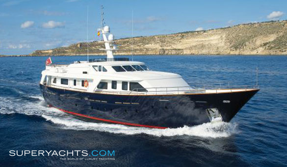 Yosh II Luxury Motor Yacht by Benetti Sail Division