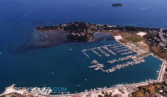 Gouvia Marina Corfu Superyachts Com