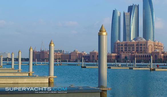 Emirates Palace Marina - Abu Dhabi | superyachts com