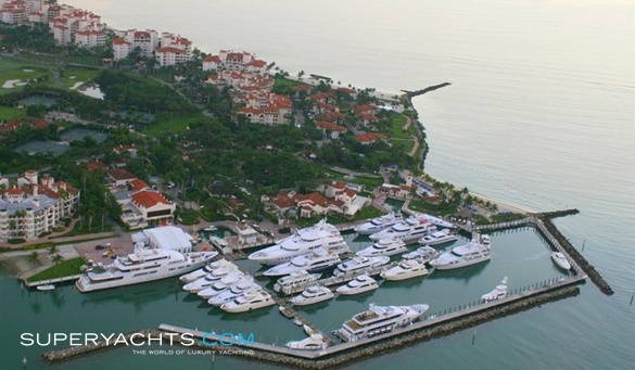 Fisher Island Club Marina