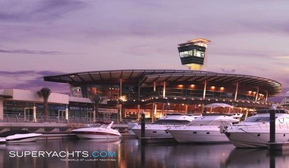 Marina boat club house