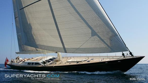 Pink Gin Luxury Sail Yacht by Baltic Yachts
